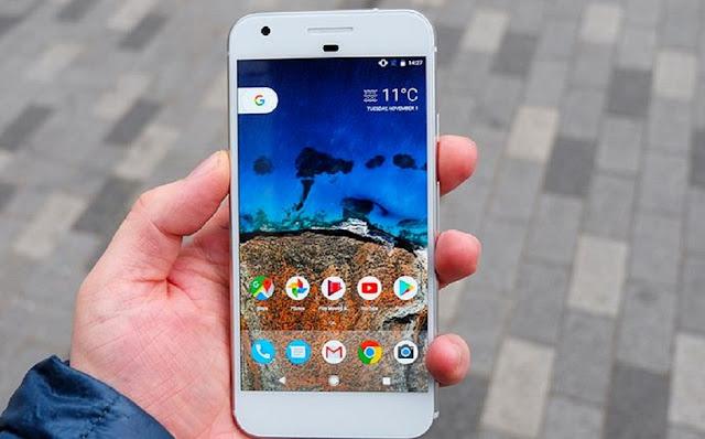 Google Pixel 1 screen size