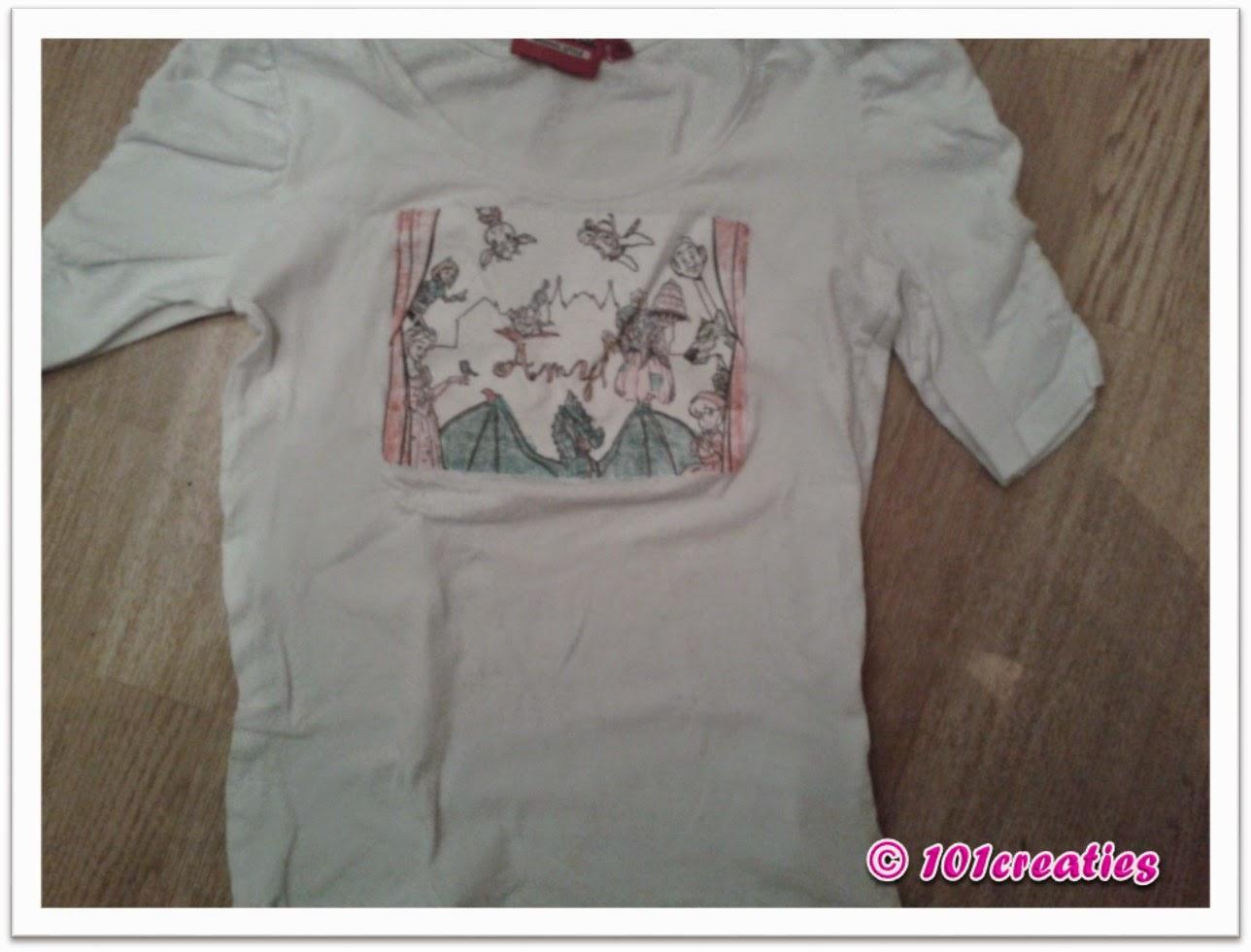 pimpen kleurplaat op t shirt 101 creaties