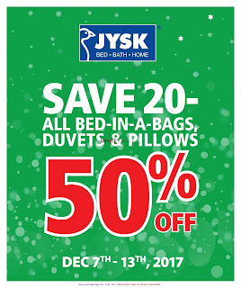 JYSK weekly Flyer December 7 - 13, 2017