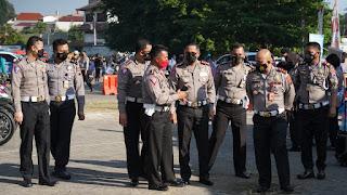 Ditlantas Polda Jateng Sediakan 28.300 Vaksin Untuk Pengemudi Angkutan Dan Ojol Di Semarang