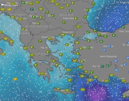 Ηλιοφάνεια σε όλη σχεδόν τη χώρα - Παγετός στην Βόρεια και την Κεντρική Ελλάδα