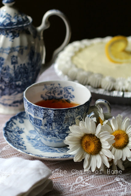 Summery Tea: The Charm of Home