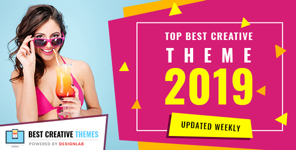 Top Best Creative Theme 2019 - Updated Weekly