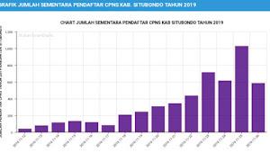 Update Terakhir Jumlah Pendaftar CPNS di Kabupaten Situbondo Tahun 2019