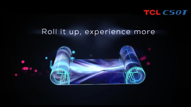 TCL scroll display