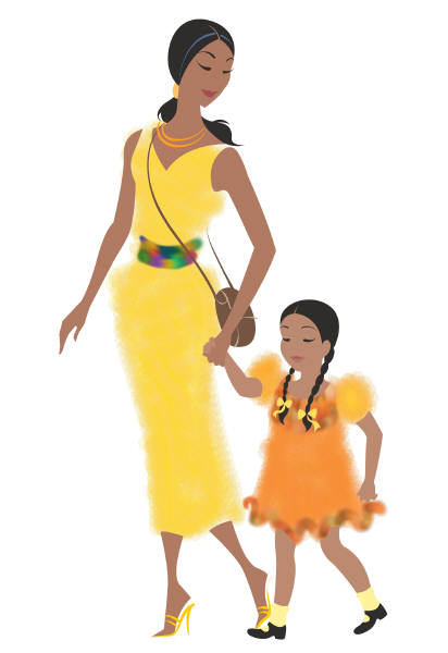 clipart mother and daughter - photo #9