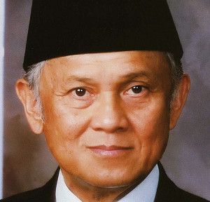 Wakil presiden Bacharuddin Jusuf Habibie