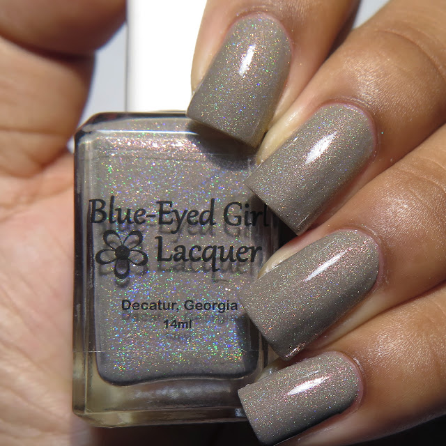 Blue Eyed Girl Lacquer Wash Away What's Past Magic 8 Box May 2016