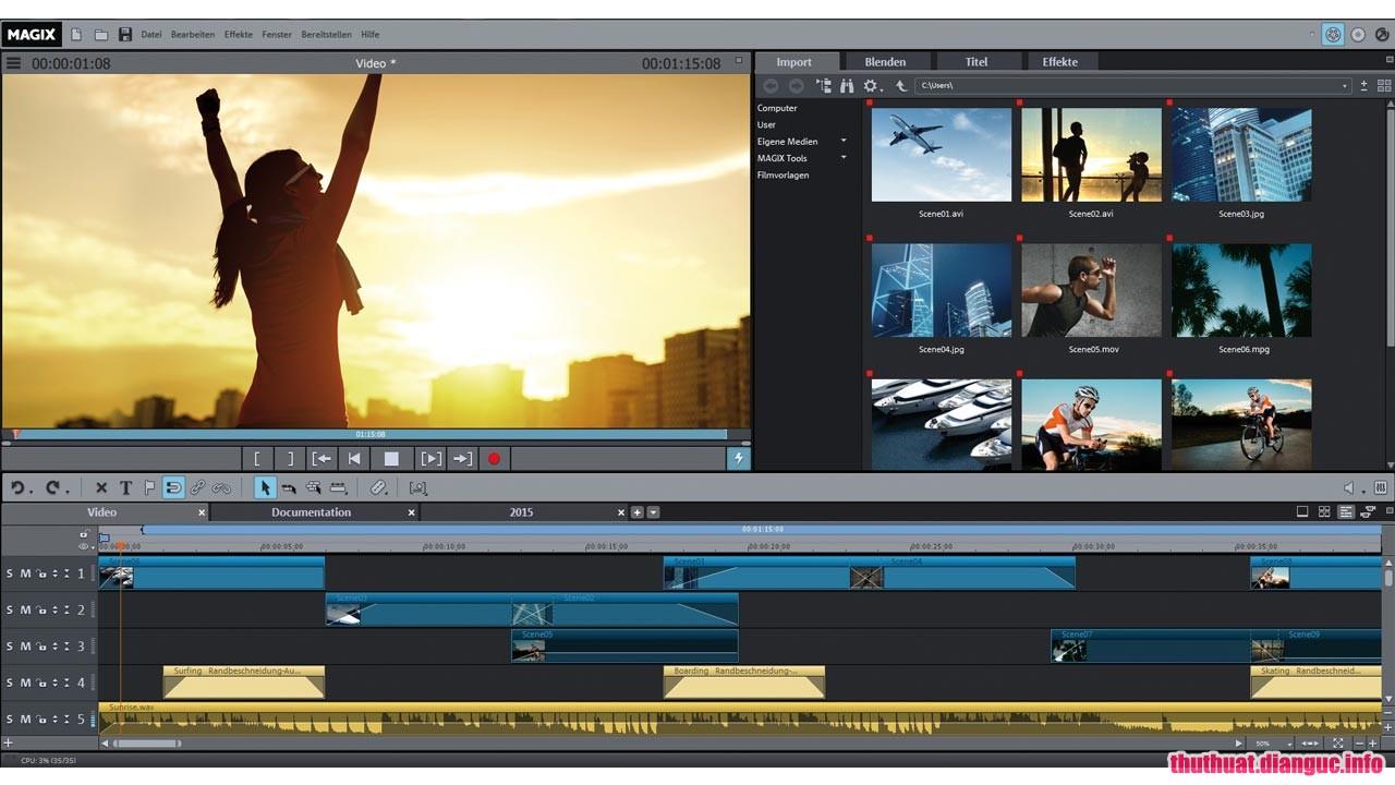 Download MAGIX Movie Edit Pro Plus 2019 v18.0.1.205 Full Cr@ck – Biên tập và chỉnh sửa video hoàn hảo