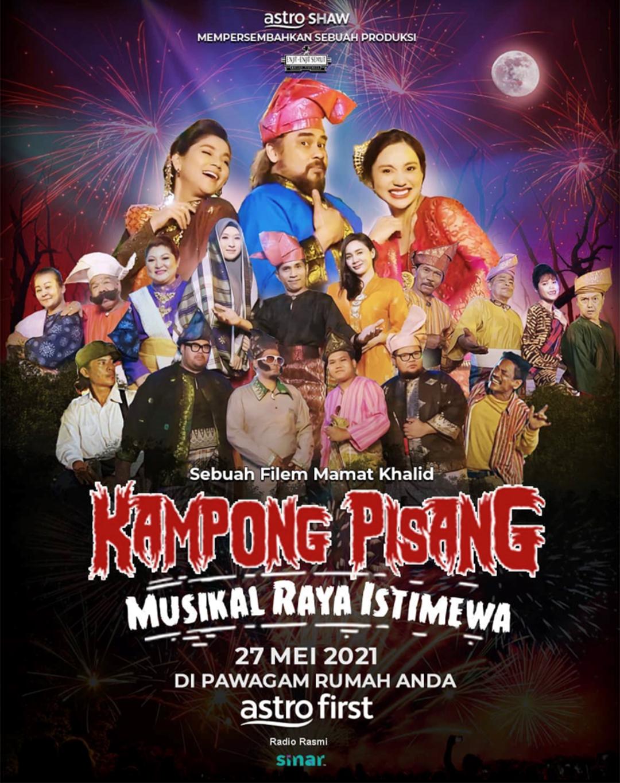 Filem Kampong Pisang Musikal Raya Istimewa Astro First