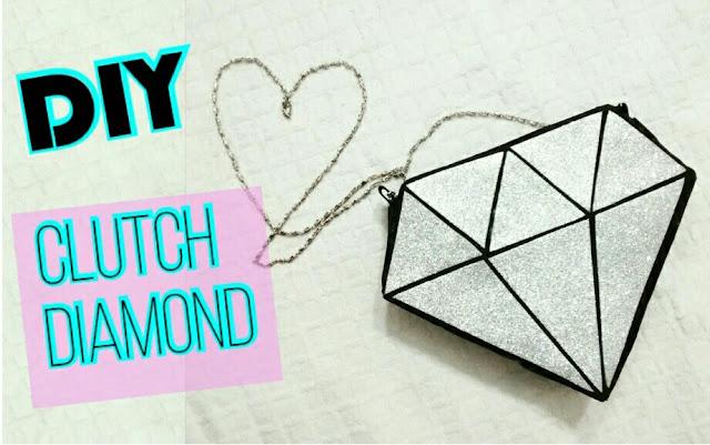 diy bolsa diamante