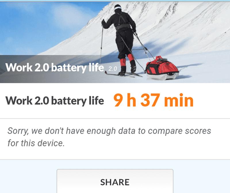 Work battery