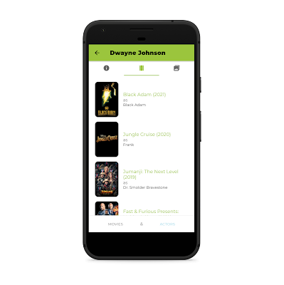 The film Data Base Ionic Android Application - 4