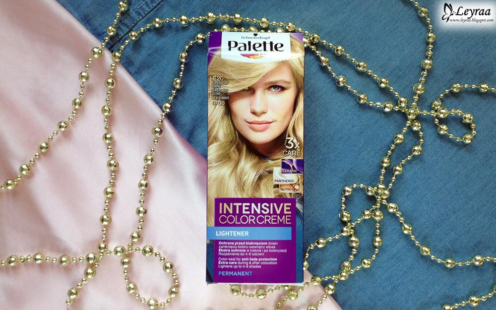 Palette, Intensive Color Creme, krem koloryzujący E20 - Superjasny blond