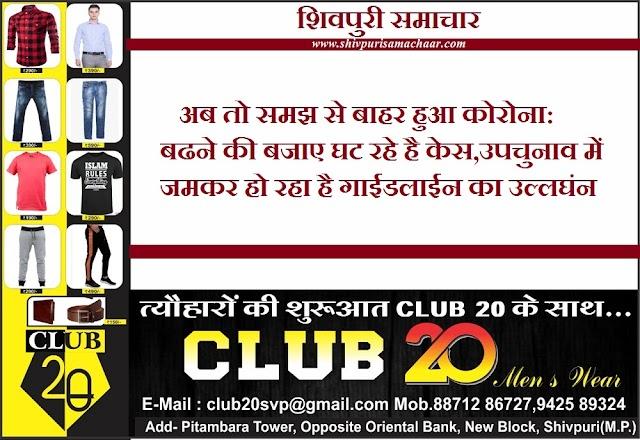 अब तो समझ से बाहर हुआ कोरोना: बढ़ने की बजाए घट रहे है केस, उपचुनाव में जमकर हो रहा है गाइडलाइन का उल्लघंन - Shivpuri News