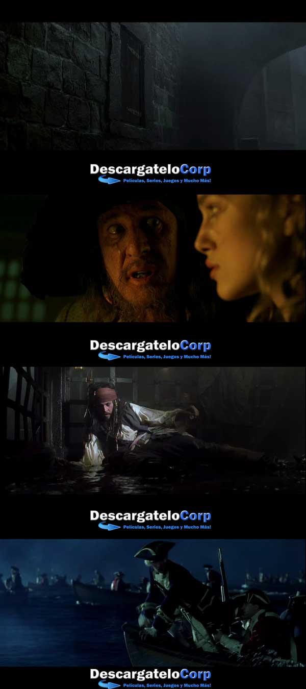Piratas Del Caribe 1 La Maldicion De La Perla Negra HD 1080p Latino