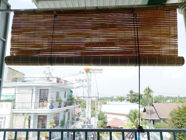 Rèm tre trúc chống nắng có thời gian sử dụng khá lâu dài trên 4,5 năm và phù hợp với mọi kiến trúc nhà ở hiện nay