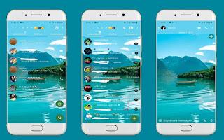 Landscape 6 Theme For YOWhatsApp & Fouad WhatsApp By Leidiane
