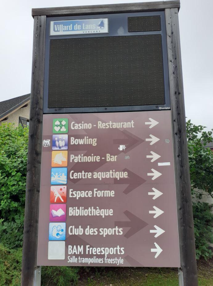 Espace de loisirs à Villard de Lans
