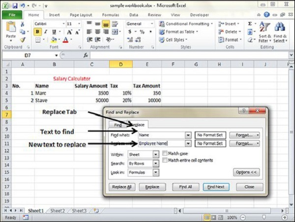 How to work in excel - Getstudypoint