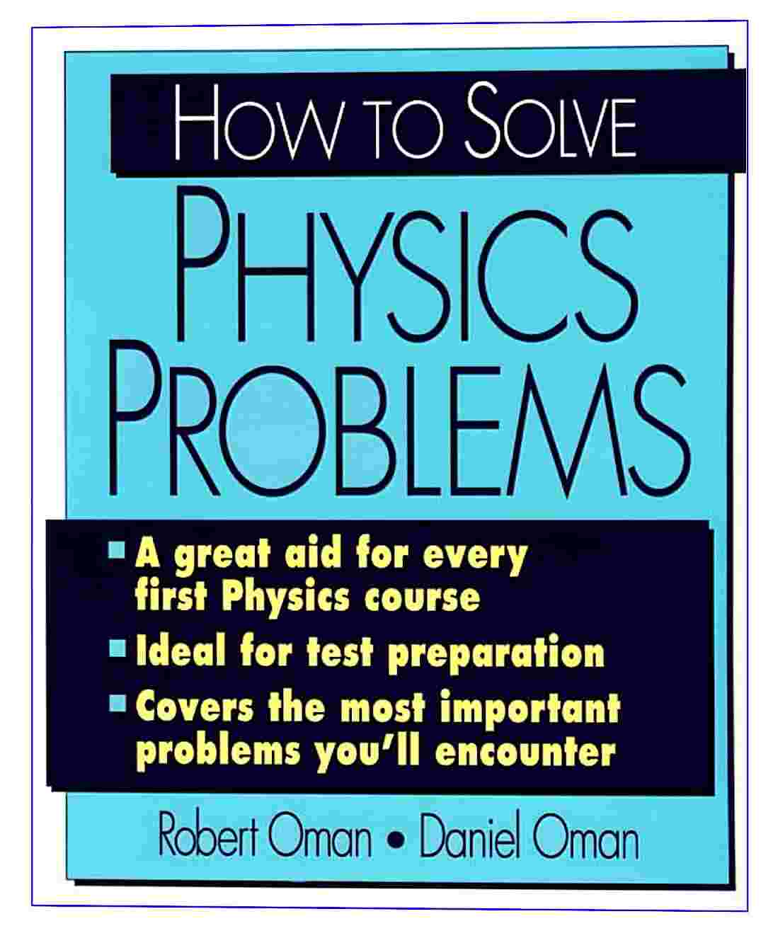 Download pdf how to solve physics problems
