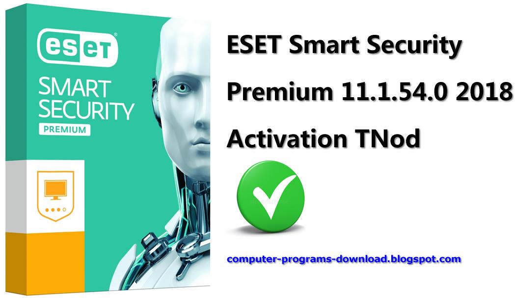 eset smart security 10 license key 2018 free download
