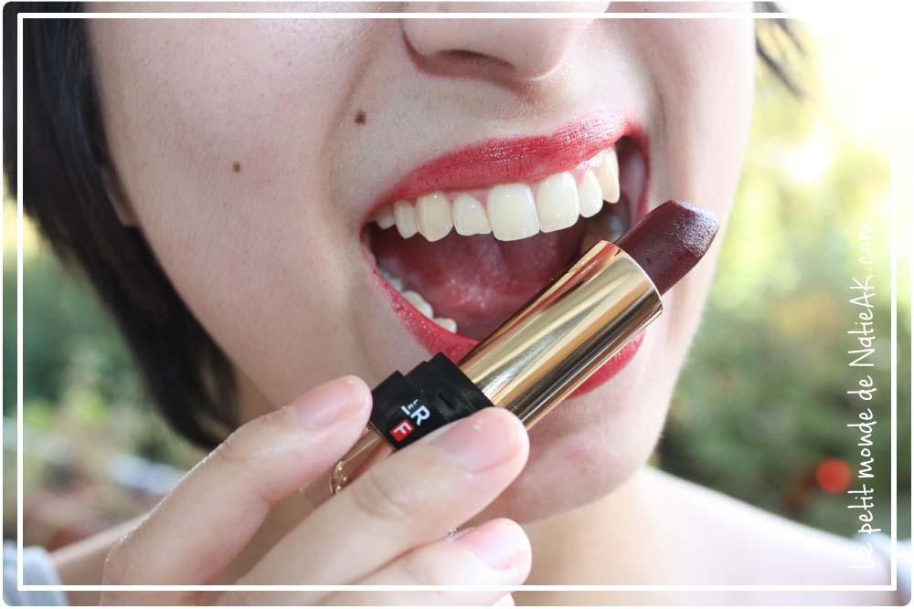 Rouge à lèvres sans microplastique, végan