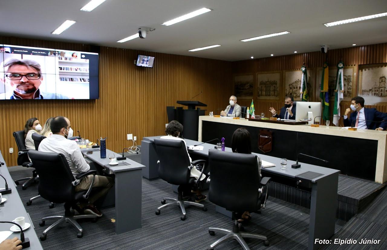 Câmara de Natal recebe secretários de Saúde para debater enfrentamento à Covid-19 - Tribuna de Noticias