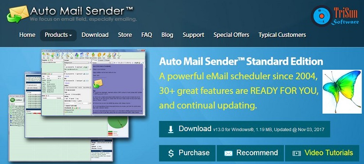 Auto Mail Sender Enterprise Full
