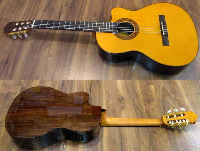 Guitarra española José Gómez C320.204EQ