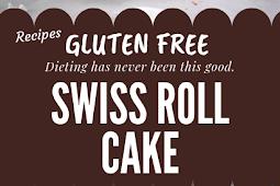 Swiss Roll Cake Gluten free #glutenfree