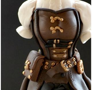 Mannequin Steampunk - Sarah Bray de Daisy Cakes