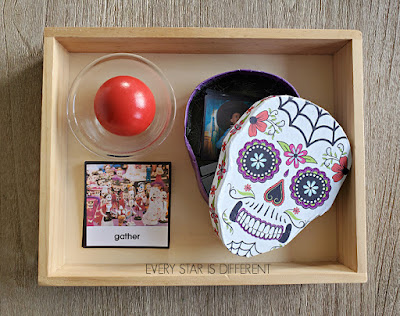 Day of the Dead Grammar Activity: Verb Nomenclature Cards