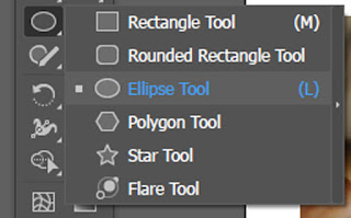 Fitur Eclipse tool di Adobe Illustrator