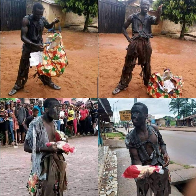 Warris Dis? University Student Takes Rag Day To Another Level