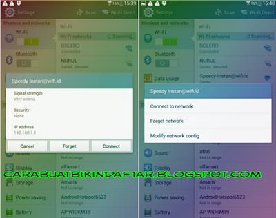 Cara Mengetahui Password Wifi Lewat HP Android Tanpa  Root Dan Tanpa Aplikasi