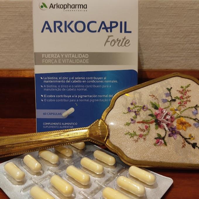 """""""Arkocapil Forte"""" proporciona fuerza y vitalidad a tu cabello"""