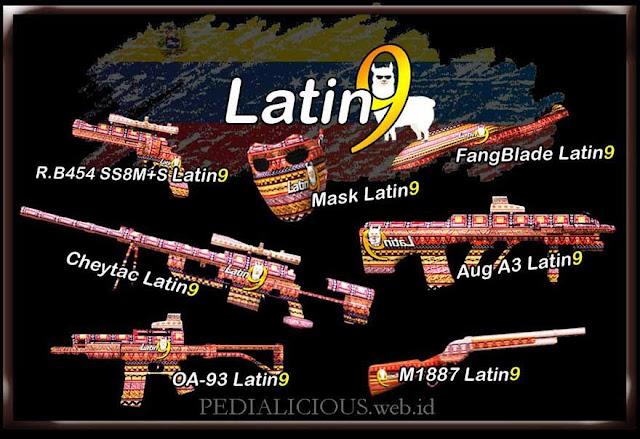 Harga & Statistik Seri Latin9 Senjata Point Blank