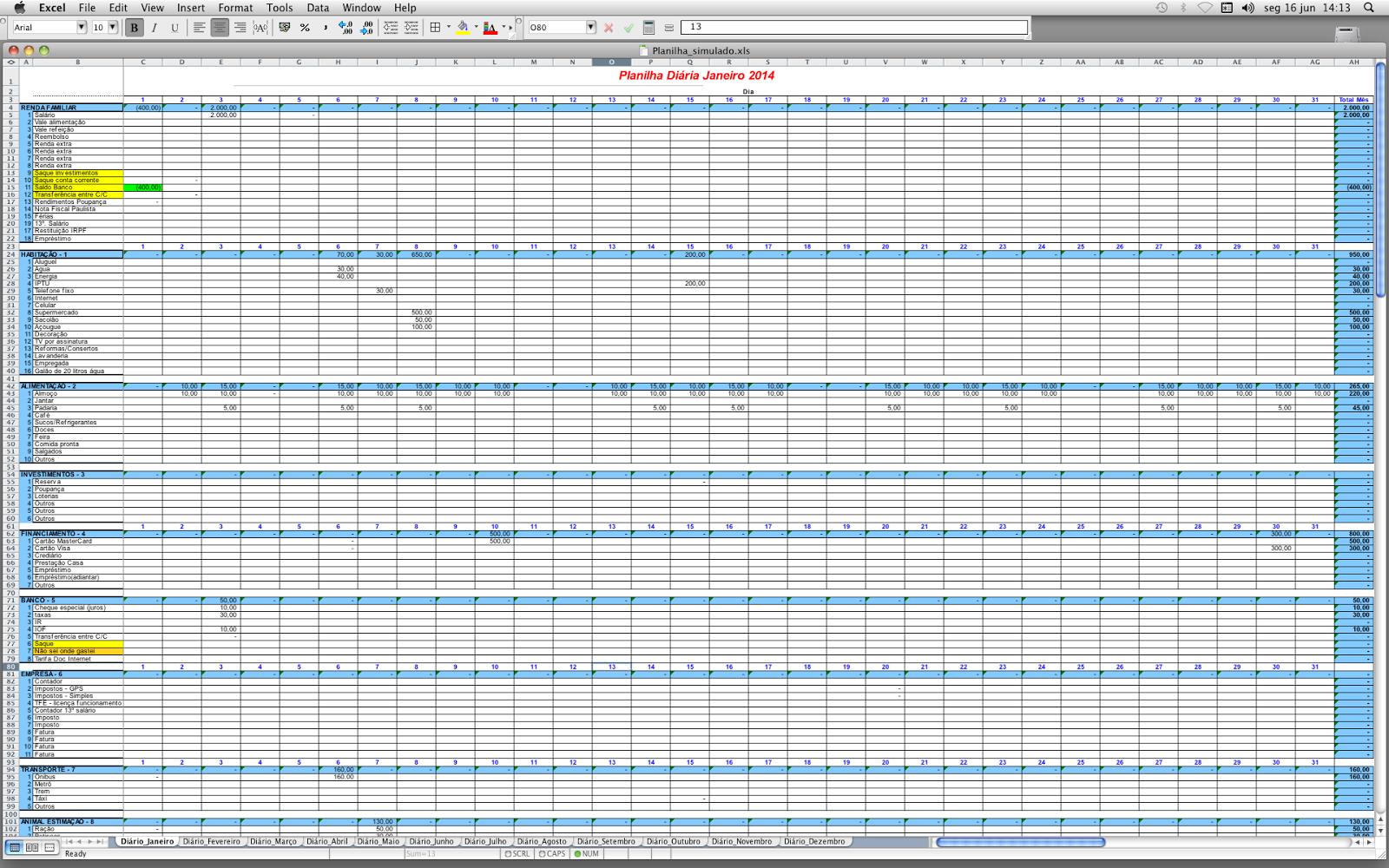 Planilha Financeira Em Excel Que Funciona Financial Excel Spreadsheet Control Financiero