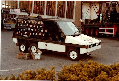 Hustler kit car. Exeter University Rag 1985