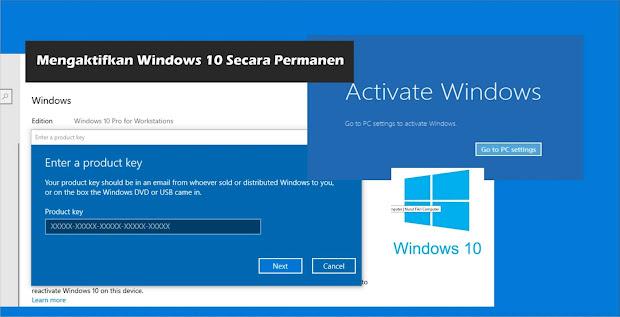 Cara Mengaktifkan Windows 10 Secara Permanen