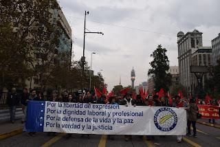1 de Mayo: Colegio de Periodistas llamó a rechazar el fallo del TC y avanzar en proceso Constituyente