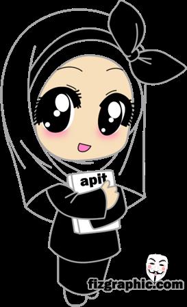 Koleksi 860  Gambar Animasi Muslimah Cute HD Free