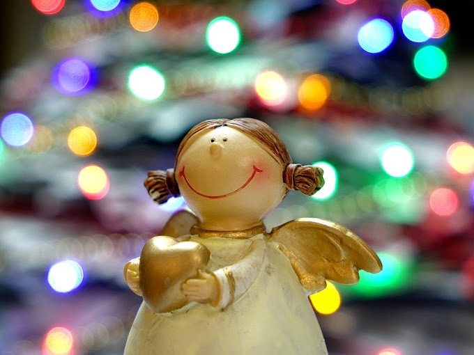 Cómo hacer Ángeles de Navidad a mano