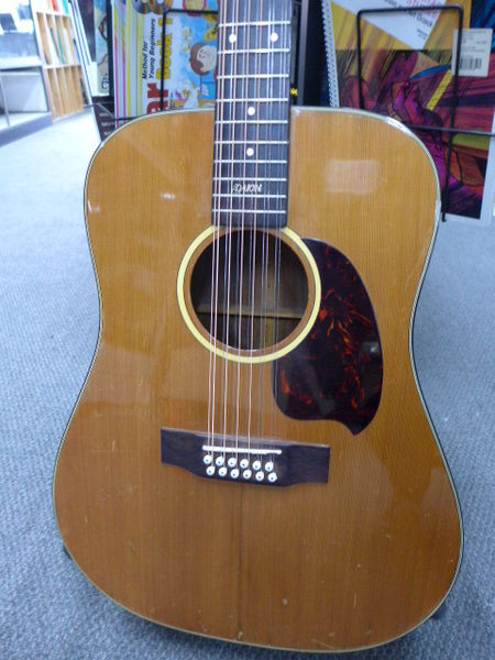 daion guitars down under daion mark i 12 12 string acoustic on. Black Bedroom Furniture Sets. Home Design Ideas