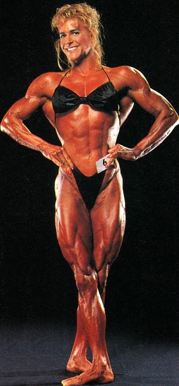 80s Female Muscle Jackie Paisley
