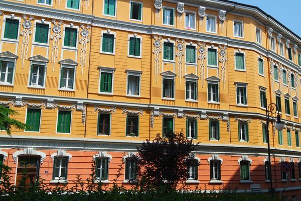 italie trieste liberty casa bussi