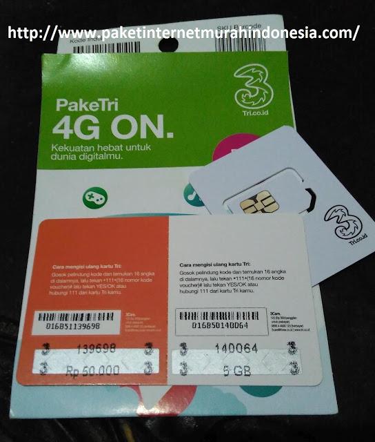 Paket Internet Three Alfamart Bonus Pulsa 50Ribu dan Kuota 4G 5GB 2017 paket internet 3 4g paket internet tri unlimited paket internet tri kuota++ paket internet 3 always on
