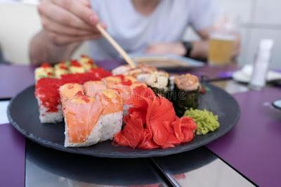 Come Sushi alimentación