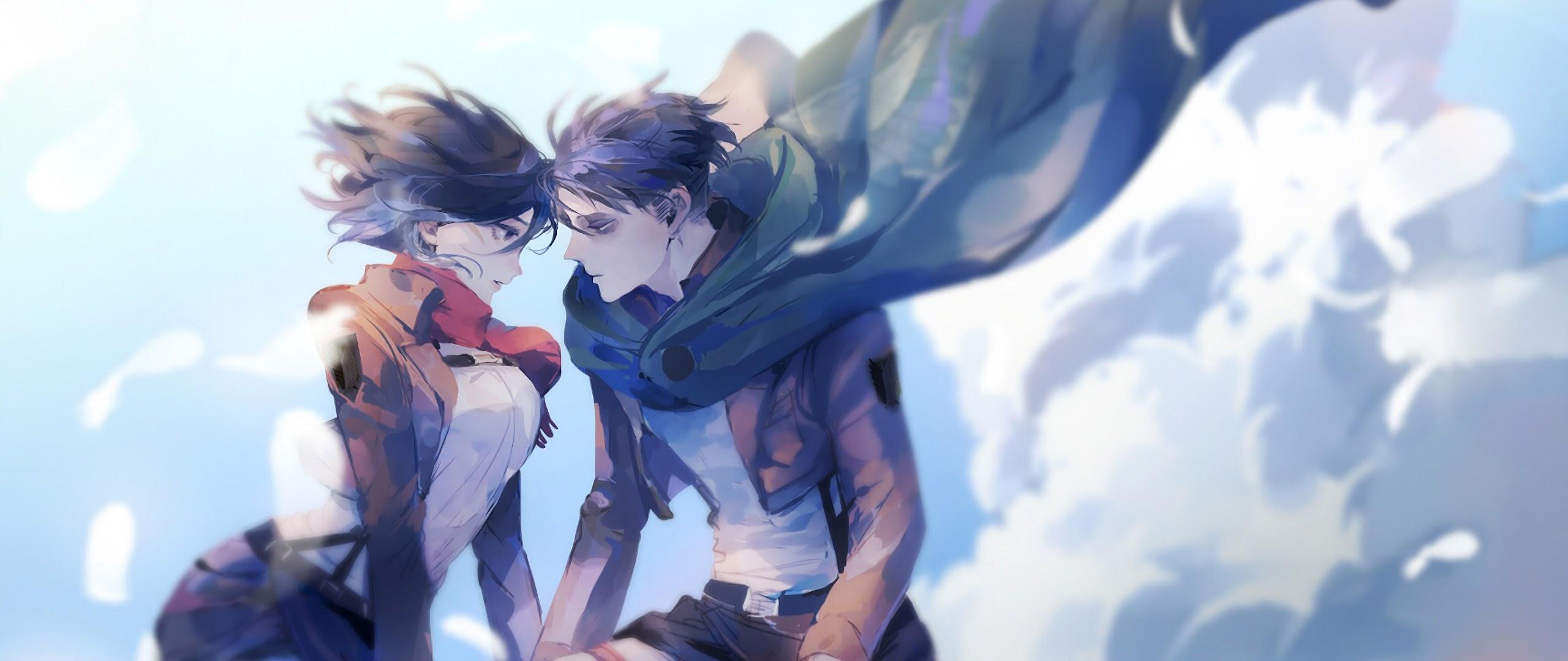 Mikasa and Levi, Attack on Titan, 4K, #156 Wallpaper